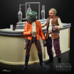 STAR WARS THE BLACK SERIES THE POWER OF THE FORCE CANTINA SHOWDOWN Playset oop 10