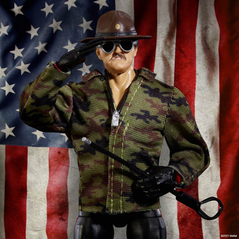 WWE Ultimate Edition Sgt Slaughter SDCC 2021 4
