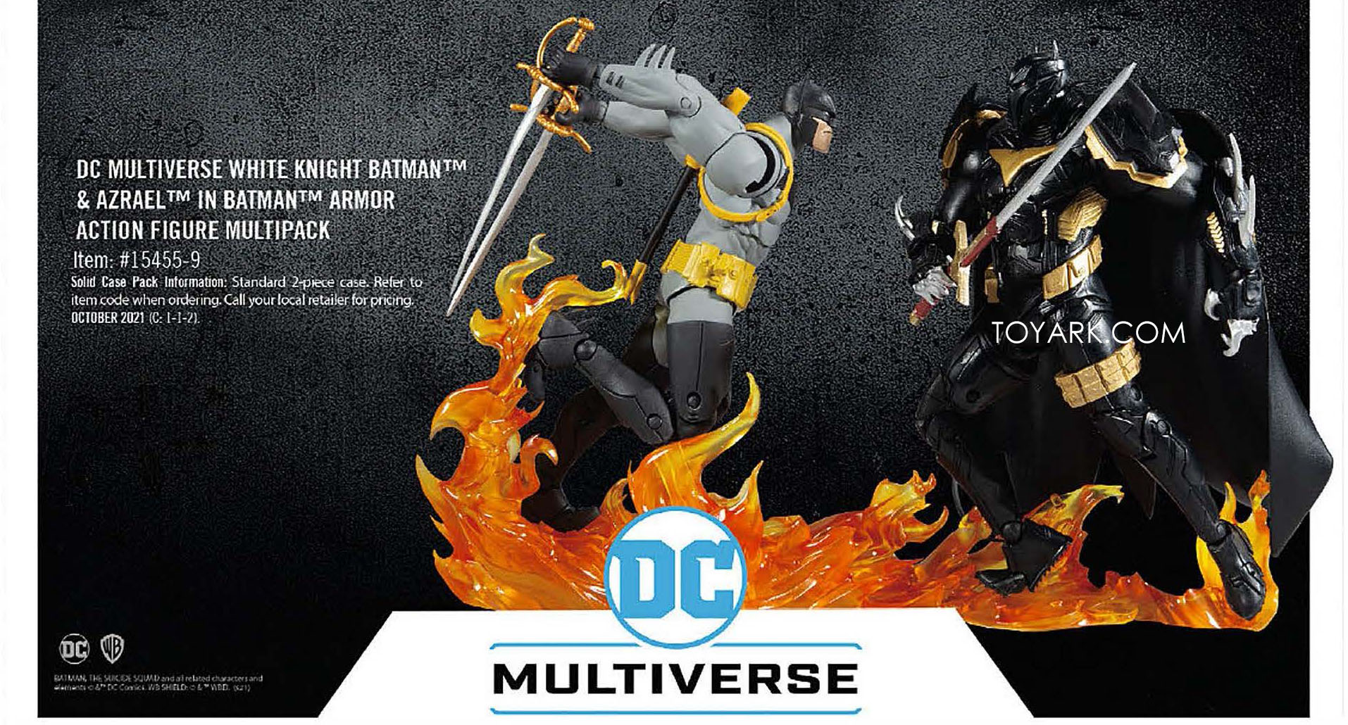 dc multiverse white knight 2 pack