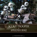 Hot Toys Scout Trooper and Speeder Bike 001