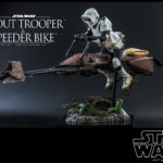 Hot Toys Scout Trooper and Speeder Bike 002