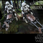 Hot Toys Scout Trooper and Speeder Bike 003