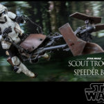 Hot Toys Scout Trooper and Speeder Bike 007