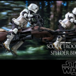 Hot Toys Scout Trooper and Speeder Bike 009