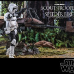 Hot Toys Scout Trooper and Speeder Bike 011