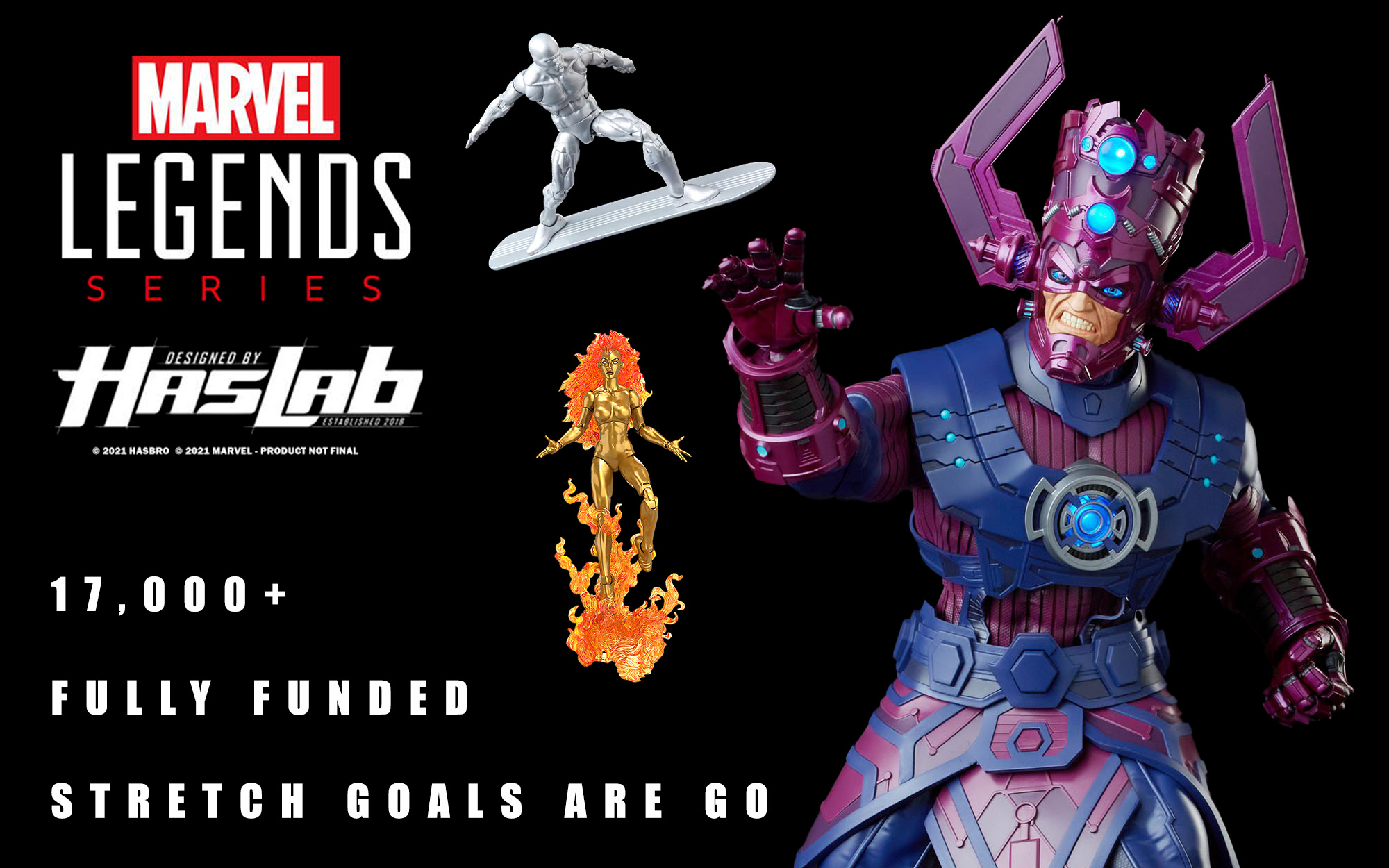 Marvel Legends Galactus Funded