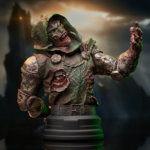 Marvel Zombies Dr Doom Bust 002