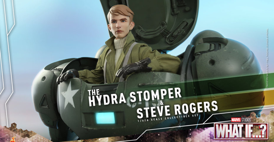 Hot Toys Steve Rogers and Hydra Stomper 003