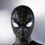SH Figuarts No Way Home Spider Man Black and Gold Suit 007