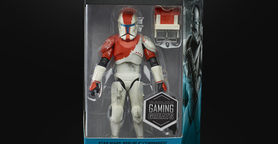 STAR WARS THE BLACK SERIES GAMING GREATS 6 INCH RC 1138 BOSS Figure in pck