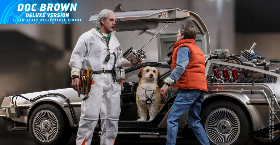 hot toys Doc Brown 2